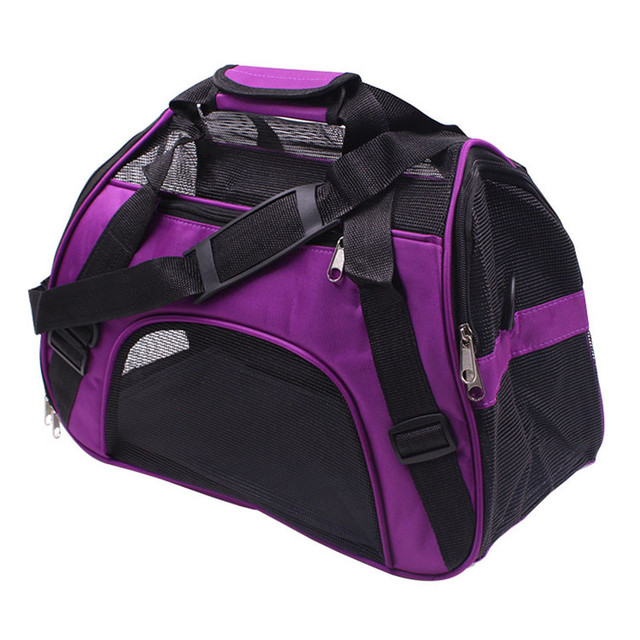 Petminru Portable Pet Backpack Messenger Carrier Bags Cat Dog Carrier Outgoing Travel Teddy Packets Breathable Small Pet Handbag 2