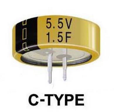 Бесплатная доставка! 1шт. ионистор 5.5 В 1F C тип   кнопка супер конденсатор|capacitor 5.5v|super capacitorfarad capacitor | АлиЭкспресс