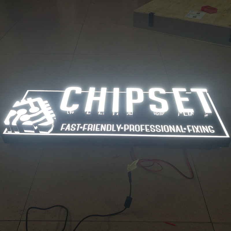Us 150 0 Outdoor Custom Led Lighting Letters Name Sign Board Free Shipping In Modules From Lights On Aliexpress 11 Double