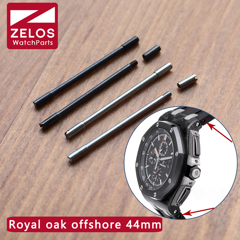 лучшая цена watch strap Screw tube /screwrod For AP ROO royal-oak-offshore 44mm panda watch band link kit 26405 26401 parts