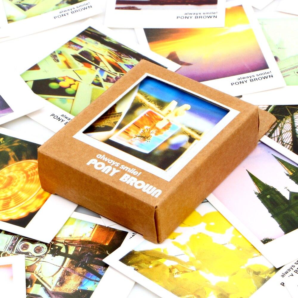 32pcslot Vintage Landscape Travel Greeting Cards Gift Message Card