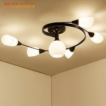 Nordic Modern Chandelier Ceiling Lamp Indoor Illuminate Lighting American LED Living Room Bedroom Children Ceiling Lights