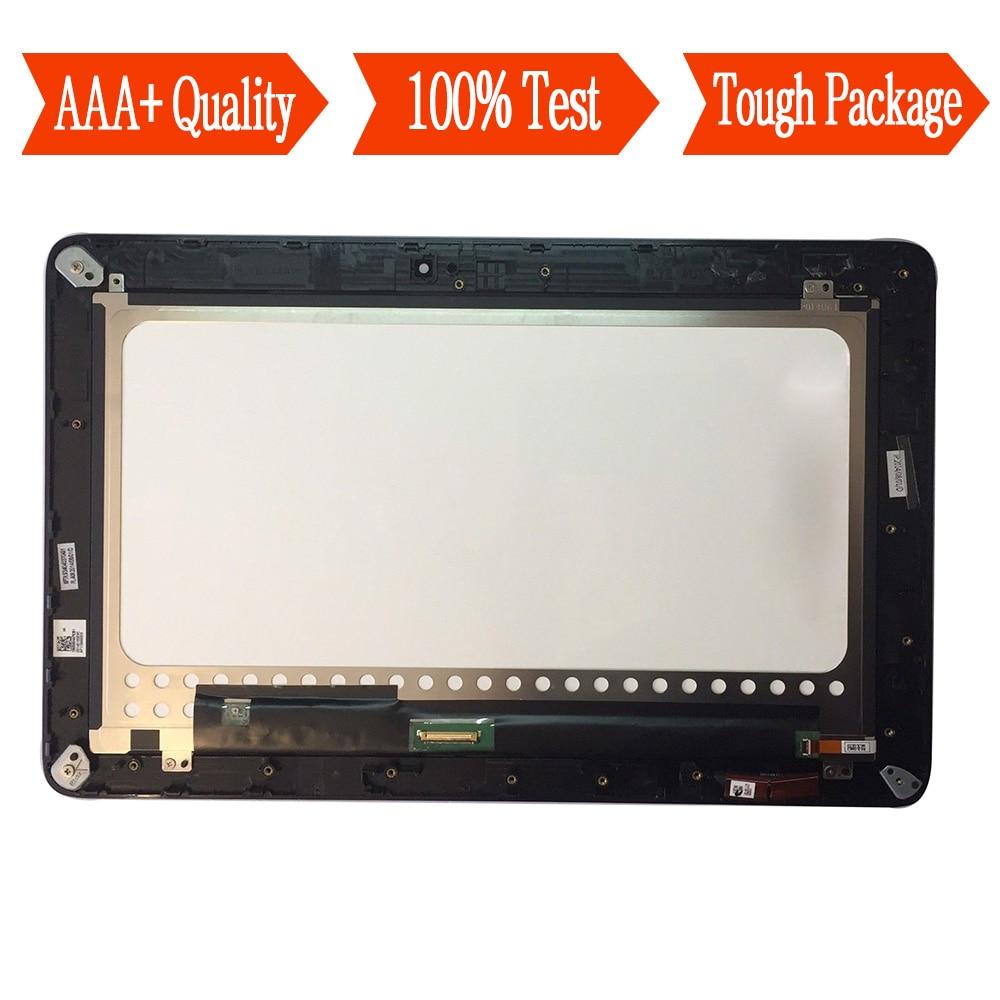 Per Asus Transformer Libro T200 T200TA Schermo Full Touch Sensor + Modulo Display LCD Assembly Con TelaioPer Asus Transformer Libro T200 T200TA Schermo Full Touch Sensor + Modulo Display LCD Assembly Con Telaio