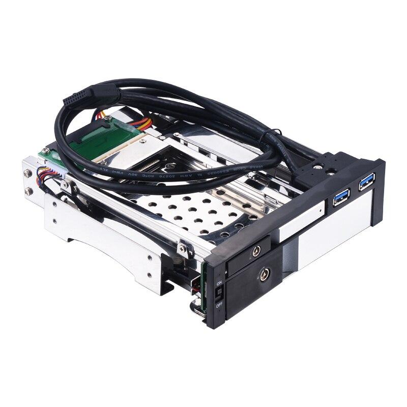 Uneatop ST7224US 2.5+3.5 inch Dual Bay 2-bay SATA HDD Rack Enclosure Silver Door moyes j silver bay