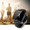 FLOVEME D3 Модные Кожаные Спортивные Bluetooth Smart Watch Шагомер Носимых FitnessTracker Smartwatch Для iPhone Samsung huawei