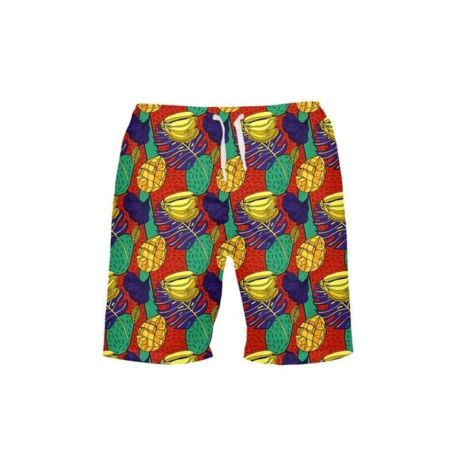 3D Printing 2019 Summer Swimsuit Beach Shorts Men Quick Drying Swim Shorts SurfingTrunks Beach Pants Men's Board Shorts Swimwear