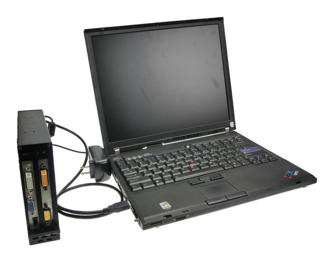 Laptop with 2 pcmcia slots