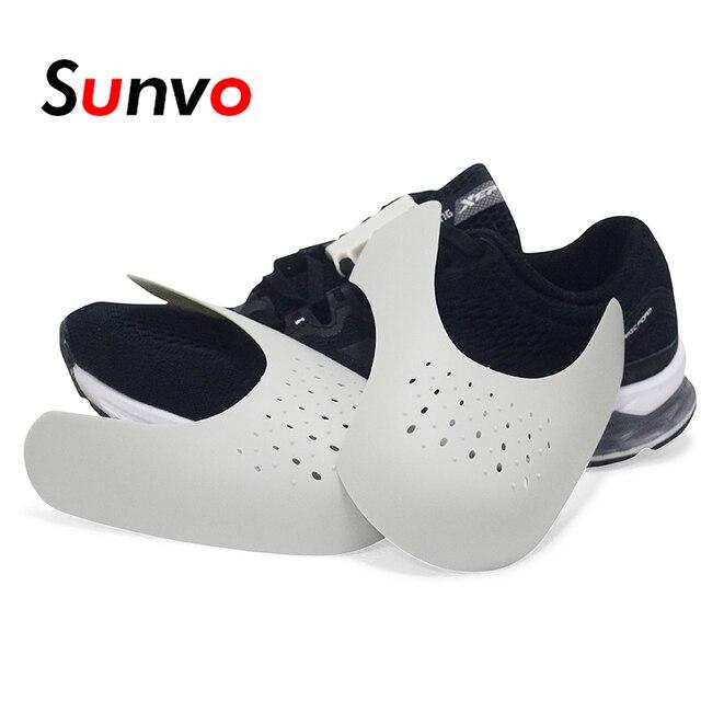Sunvo รองเท้า Shields สำหรับรองเท้าผ้าใบ Crease ย่นพับสนับสนุนรองเท้า Toe หมวกกีฬา Ball หัวรองเท้า Stretcher Shaper Keeper ต้นไม้