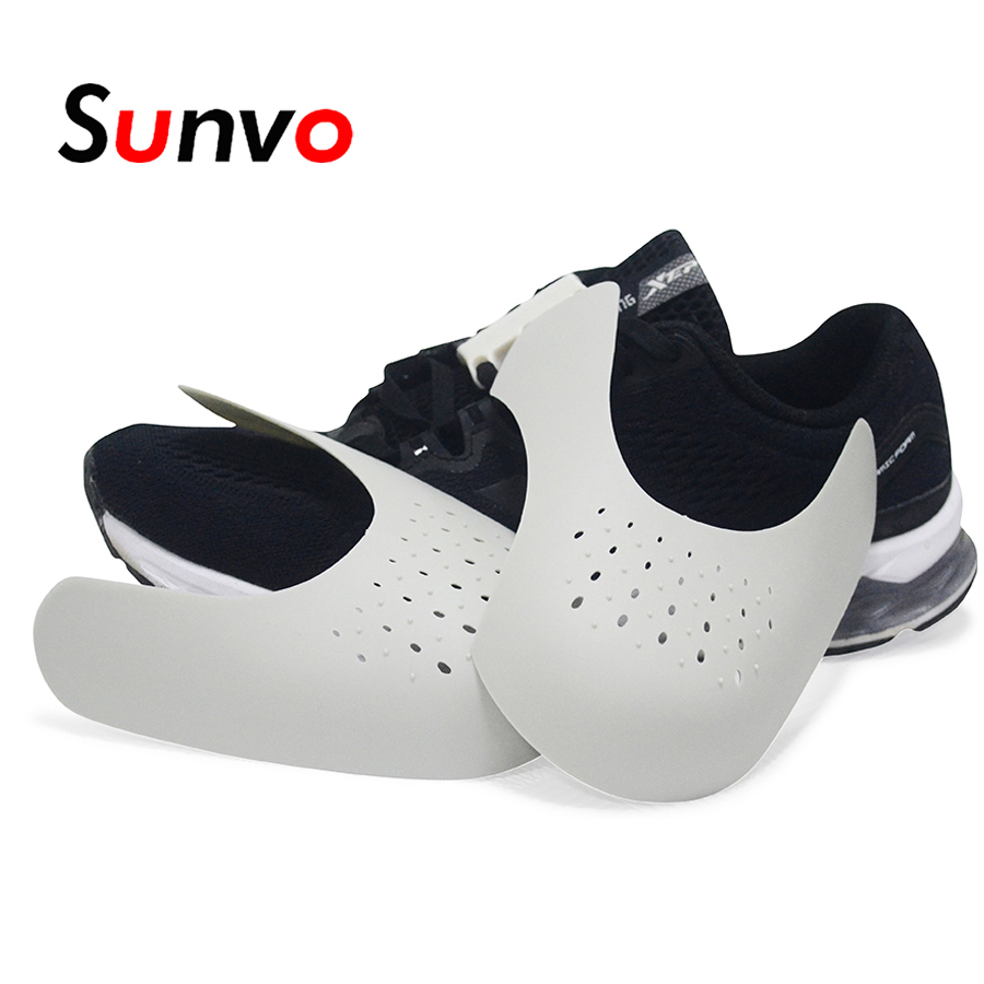 Sunvo Shoes Shields For Sneaker Anti Crease Wrinkled Fold Shoe Support Toe Cap Sport Ball Shoe Head Stretcher Dropshipping