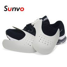 Sunvo Shoes Shields for Sneaker Anti Crease Wrinkled Fold Shoe Support Toe Cap Sport Ball Shoe Head Stretcher Dropshipping(China)