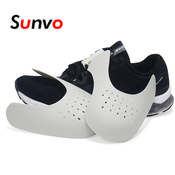 Sunvo chaussures boucliers pour Sneaker Anti pli froissé chaussure Support orteil Sport balle chaussure tête civière livraison directe