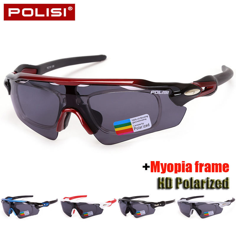 2017 Brand New Polarized Cycling Glasses Bicycle Sunglasses Goggles Cycling Eyewear Myopia Frame Bike Outdoor Sports Sunglasses parzin brand quality children sunglasses girls round real hd polarized sunglasses boys glasses anti uv400 summer eyewear d2005