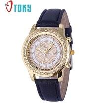 OTOKY watches Women Rhinestone Quartz watch reloj mujer For Luxury Crystal watch Women Fashion Dress Wristwatches #30 gift 1pc