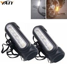 YAIT для Touring Models 1 пара мотоцикл шоссе бар Switchback Вождение указатель поворота светильник светодиодный для Crash Bars