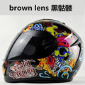 New Arrival Free Shipping Best-Selling Full Face Safe Motorcycle Helmet double lens latest version have bag 100%