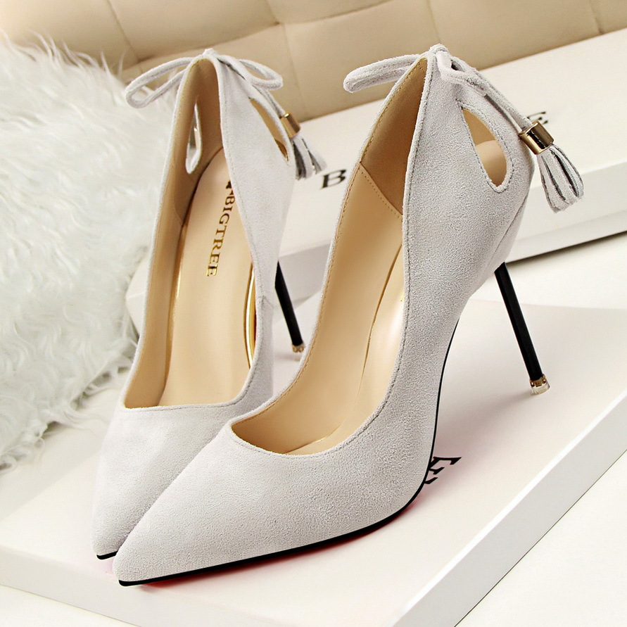 Spring Summer Women Pumps High Heels Shoes Elegant Tassel Sexy Heeded Shoes Ultra Thin Heels Shoes Female Nightclub Party G393-6 spring summer sexy nightclub shallow mouth thin high heels pu leather buckle square toe pumps shoes fashion elegant silver pumps