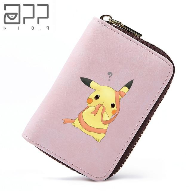 app blog cute cartoon pikachu card holder korea fashion girlboys women teenager kid bank credit card - Card Holder App