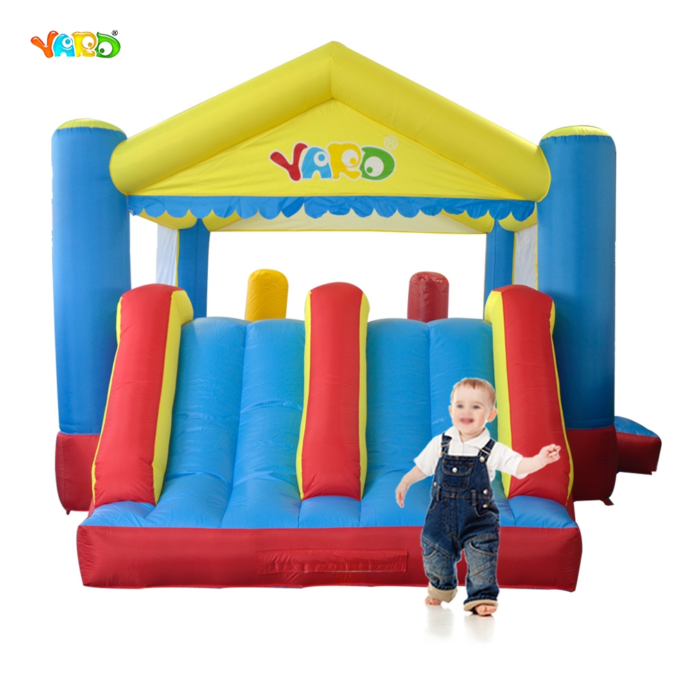 YARD Free Shipping Inflatable Bouncer Dual Slide Bouncy Jumper Giant Jumping House Obstacle Combo For Home Use yard free shipping bouncy dream castle inflatable jumper bouncer 6 in 1 all round obstacle combo for home use
