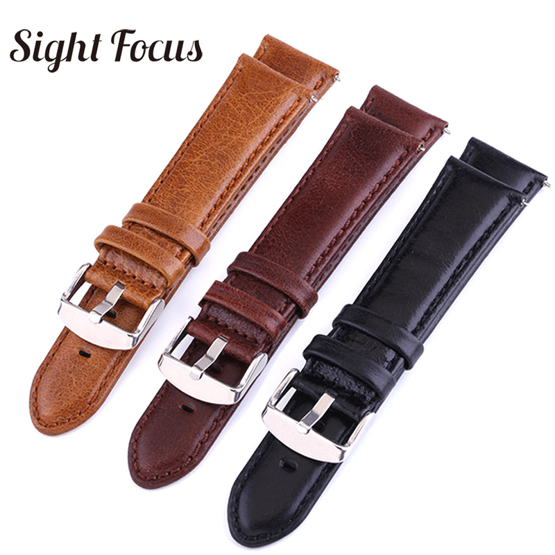 Leather watch strap fit suunto 9 baro 24mm quick release strap  Spartan speed photoelectric watch band Traverse Alpha watchband strap