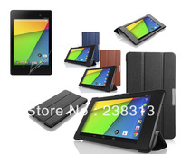 Flip Stand Smart Leather Case For Google Nexus 7 II 2 Gen Asus 2013 Folio Sleep