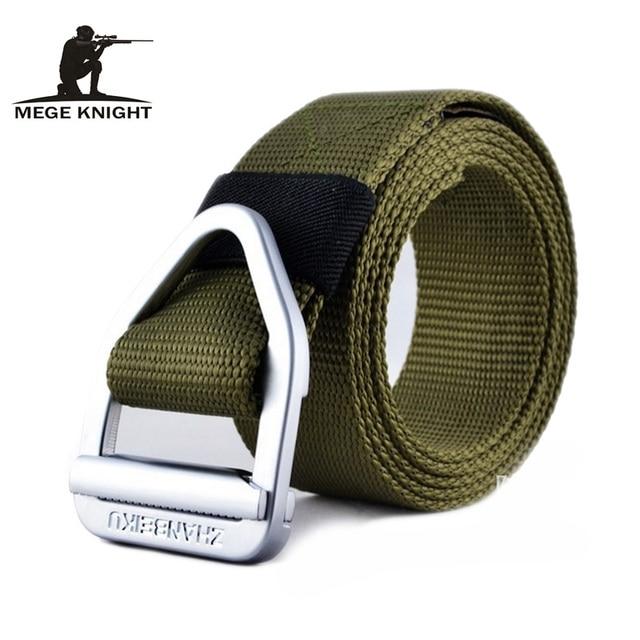 Nylon Belt Automatic Buckle Male Army Tactical Belt Jeans Mens Luxury Waist Designer Belts Men High Quality Strap Ceinture Femme