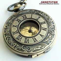 Для мужчин Винтаж карманные часы ретро Античная Часы с цепочкой Цепочки и ожерелья Роман стимпанк подарок для Него Юбилей свадьбы дружки