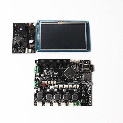 duet wifi v1 04 placa de controle avancada placa mainboard de 32bit com 4 3