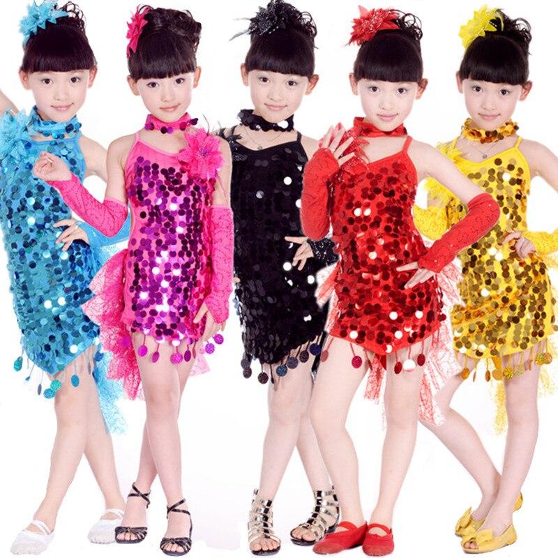 20 шт./лот Бесплатная доставка, 5 цветов кисточкой Перо дети Обувь для девочек Костюмы для латиноамериканских танцев Одежда для танцев Samba Сал...