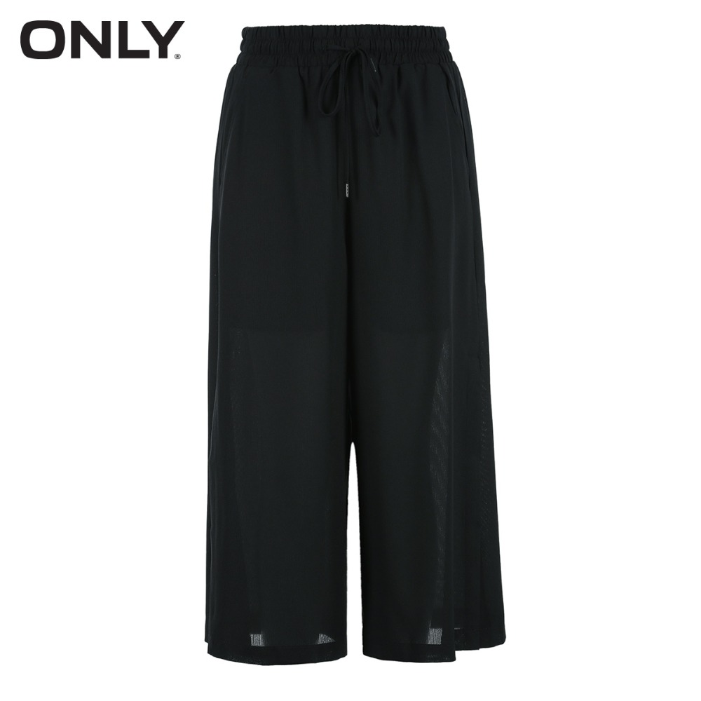 ONLY Cropped loose leg casual pants female 11836J512 in Jumpsuits from Women 39 s Clothing