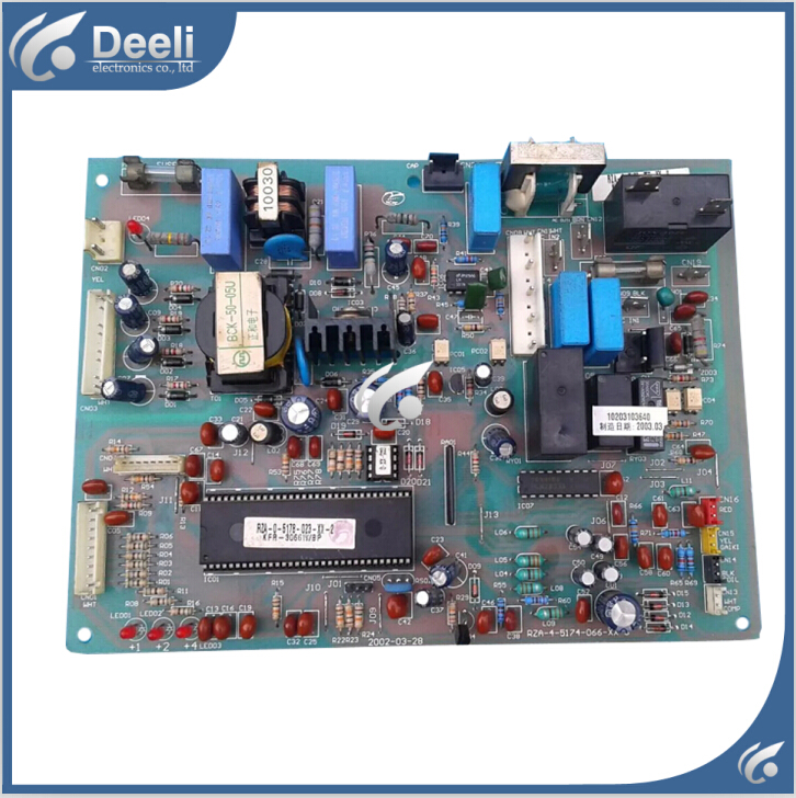 95% new good working for air conditioning Computer board KFR-3066W/BP RZA-4-5174-066-XX-3 board good working цена и фото