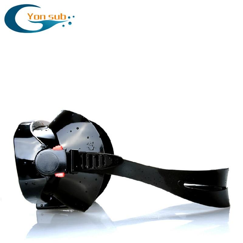 Profesjonalna silikonowa maska nurkowa do nurkowania Zestaw do - Sporty wodne - Zdjęcie 5