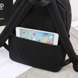 Image 5 - トレンド女性のバックパック韓国スタイル女性大学生バックパック通学ティーンエイジャー女の子の手紙の印刷女の子ナップザック