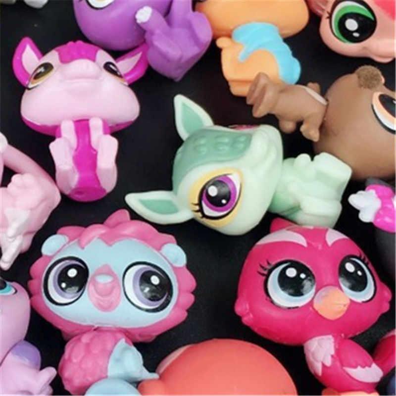 20 pçs/lote animais Figuras de Ação Brinquedos Brinquedo Pequeno Animal de Estimação Littlest loja de Animais Gato Bonito Cão patrulla canina Figuras de Ação brinquedos Infantis