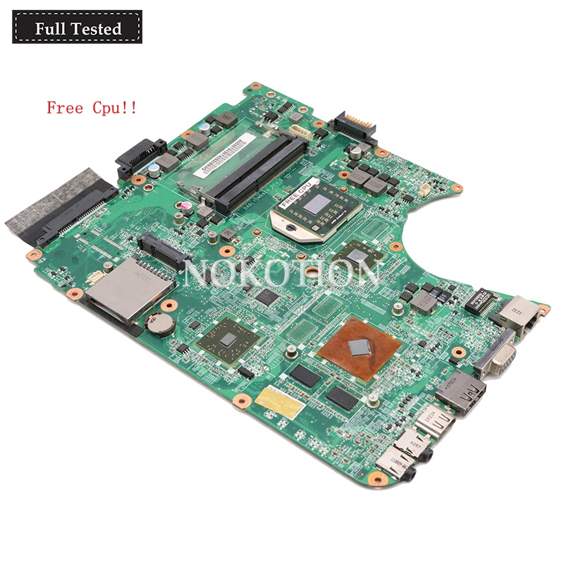 Nokotion A000076430 For Toshiba satellite L655D L650D  DABL7DMB8E0 laptop motherboard HD4500 DDR3Nokotion A000076430 For Toshiba satellite L655D L650D  DABL7DMB8E0 laptop motherboard HD4500 DDR3