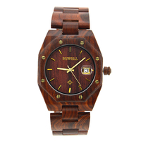 BEWELL Watches Men Luxury Brand Men Sandalwood Watches Waterproof Full Quartz Gothic Men's Wristwatch Relogio Masculino 099A