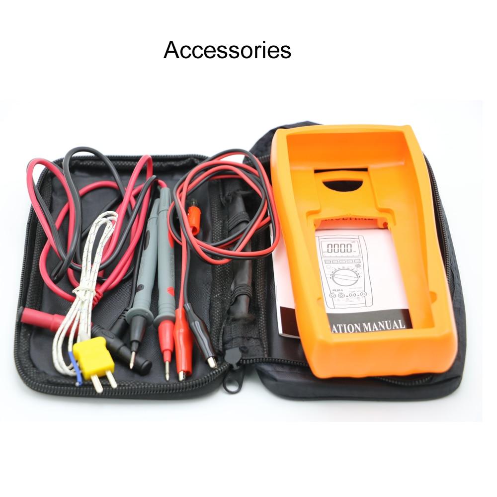 Vici VC99 Auto Range 3 6/7 digitális multiméter 20A ampermérő - Mérőműszerek - Fénykép 6