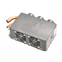 Energy saving 12V 24W Portable Compact 3 Hole Car Heating Heater Defroster Demister Mounting Accessories