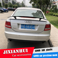 For Audi A6 Spoiler 2006 2018 Audi A6 Spoiler TF ABS plastic Material Car Rear Wing Color Rear Spoiler