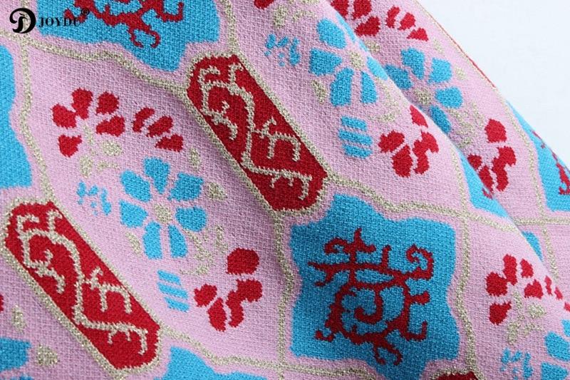 Picture Jumper Hilo Para Suéter Jerseys Vintage Lujo De Shows Pasarela Inverno 2018 Nuevo Bordado Joydu Primavera As Mujeres Femenina Oro Blusas g4xzHH