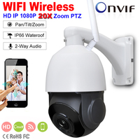 Security 4 MINI FULL HD 1080P Wireless WIFI High Speed IP PTZ Camera 2 Way Audio