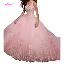 Vintage Lace Appliques Sweet 15 Ball Gown Tulle Quinceanera Dress Sweetheart Long Prom Dresses with Jacket vestido anos