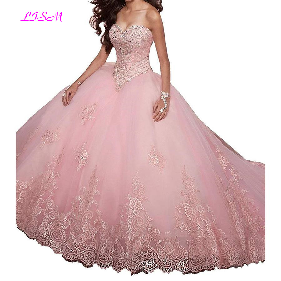 Vintage dentelle Appliques douce 15 robe de bal Tulle Quinceanera robe chérie Tulle longues robes de bal avec veste vestido 15 anos