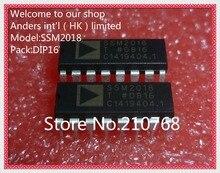 5 unidades/lote, SSM2018P, SSM2018, DIP16