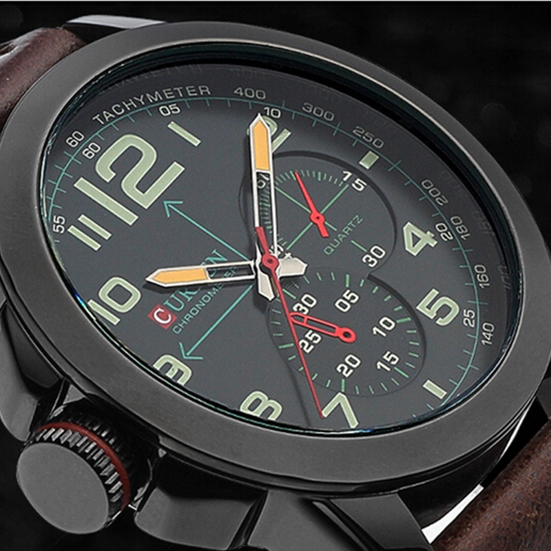 Curren Famous Original Brand Japan Movement Quartz Watch 30M Life Water Resistan Business Men Watches Luxury Casual Wristwatches недорого