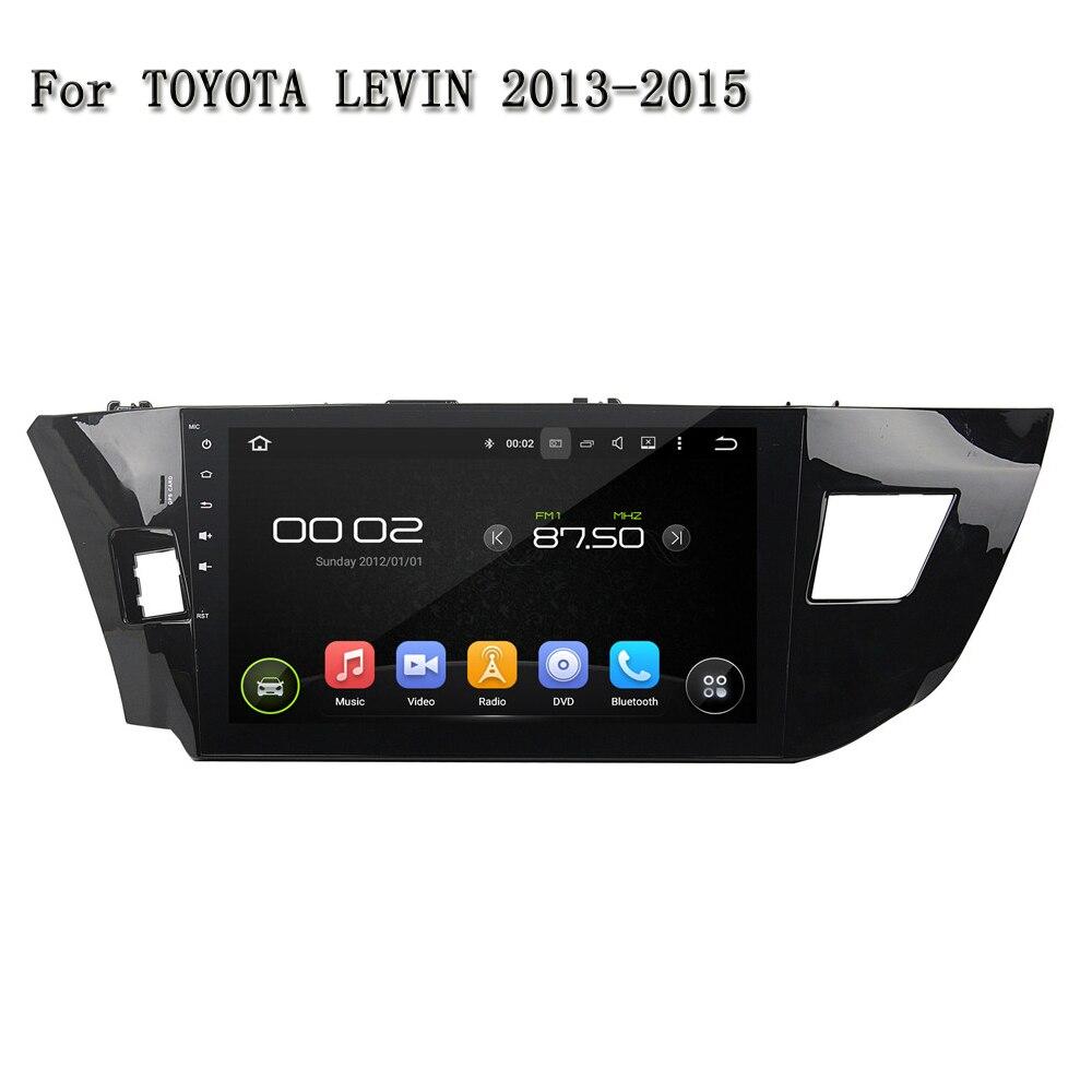 10.1 автомобиль DVD плеер для Toyota Левин 2013-2015 остаются оригинальный автомобиль Функция Поддержка GPS USB TMPS mp3