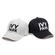 Ivy Park béisbol Beyonce estilo deportivo algodón ceniza de cáñamo sombrero  unisex SnapBack CAPS para mujeres 41d902a7823