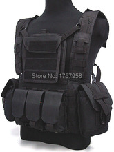 Military Molle Hydration Vest Airsoft Molle Canteen Hydration Water Reservoir Combat RRV Vest