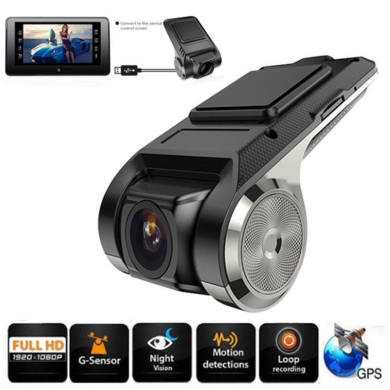 ADAS Mini Dash Cam Car Camera Auto DVR Full HD 1080P G-sensor Digital Video Recorder Android Vehicle Camera Multimedia Player(China)