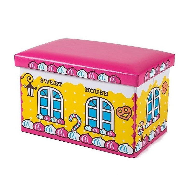 Vintage Pouffe Meble Dla Dzieci Footstool Plegable Banquinho Puf Asiento Pouf Kids Furniture Taburete Poef Storage Stool