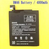 4000mAh New Original High Quality BM46 BM 46 Battery Xiaomi Hongmi Redmi Note 3 Xiao Mi